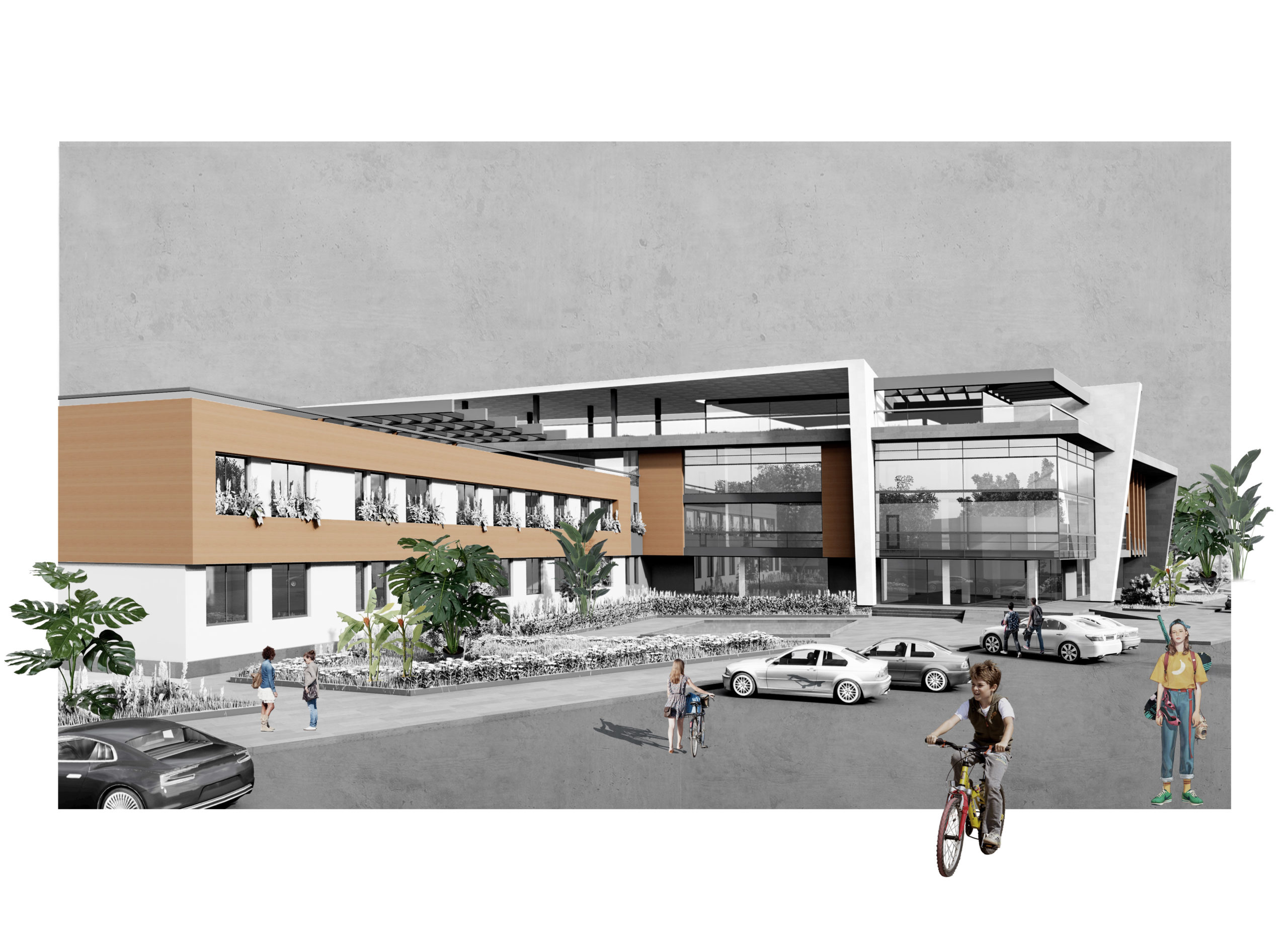 School N 149 Renovation and rethinking project - featured image